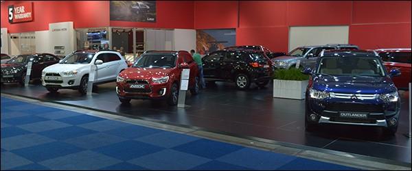 Autosalon Brussel 2015 Live: Mitsubishi (Paleis 8)