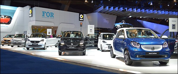 Autosalon Brussel 2015 Live: Smart (Paleis 5)