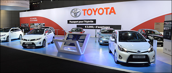 Autosalon Brussel 2015: Toyota Line-up