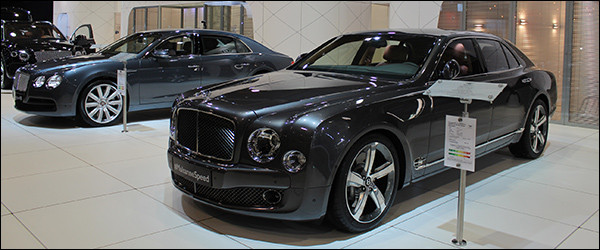 Autosalon Brussel 2016 Live: Bentley (Paleis 1)