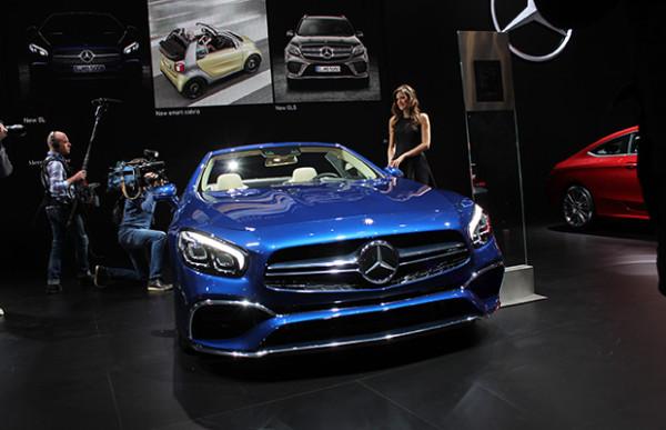 Autosalon Brussel 2016 Live - Mercedes 17