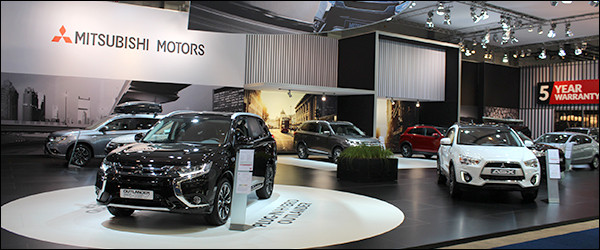 Autosalon Brussel 2016 Live: Mitsubishi (Paleis 9)