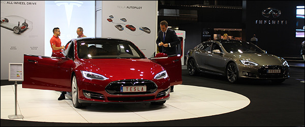 Autosalon Brussel 2016 Live: Tesla (Paleis 1)