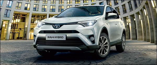 Autosalon Brussel 2016: Toyota Line-up - RAV4 Hybrid