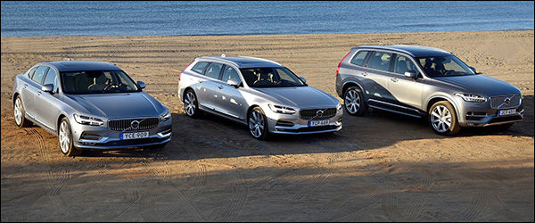 Autosalon Brussel 2017: Volvo line-up