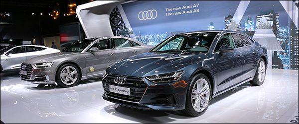 Autosalon Brussel 2018 live: Audi (Paleis 12)