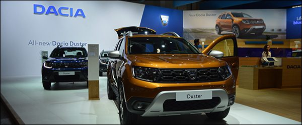 Autosalon Brussel 2018 live: Dacia (Paleis 5)