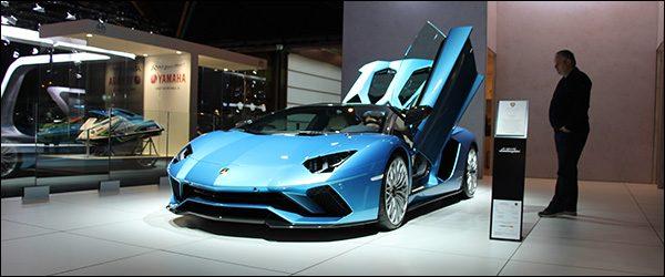 Autosalon Brussel 2018 live: Lamborghini (Paleis 12)