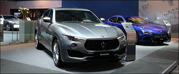 Autosalon Brussel 2018 live: Maserati (Paleis 7)