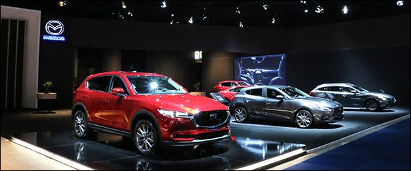 Autosalon Brussel 2018 live: Mazda (Paleis 6)