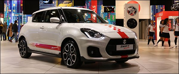 Autosalon Brussel 2018 live: Suzuki (Paleis 3)