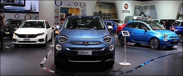 Autosalon Brussel 2019 live: Fiat (Paleis 7)