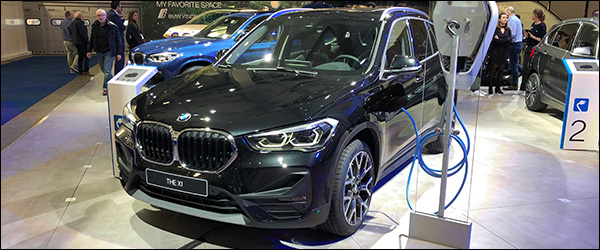 Autosalon Brussel 2020 live: BMW X1 sDrive25e plug-in hybride (Paleis 7)