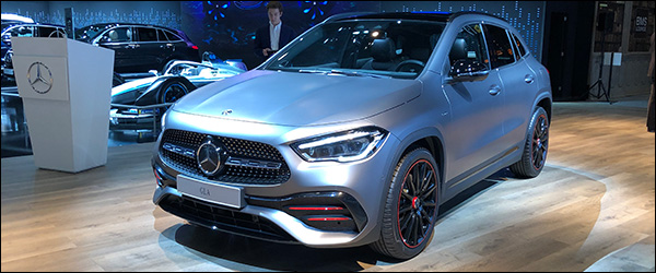 Autosalon Brussel 2020 live: Mercedes GLA crossover (Paleis 5)