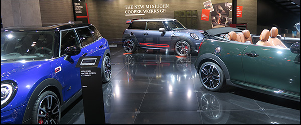 Autosalon Brussel 2020 live: MINI Electric + JCW GP (Paleis 7)