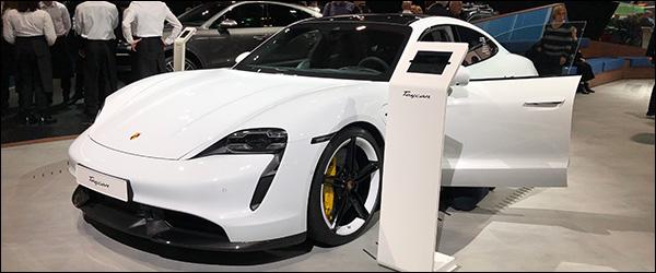 Autosalon Brussel 2020 live: Porsche Taycan (Paleis 11)