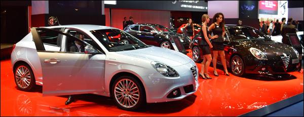 Autosalon Frankfurt 2013 Alfa Romeo