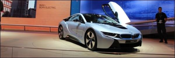 Autosalon Frankfurt 2013 - BMW - i8 - i3 - x5 - 4-reeks - 5-reeks facelift