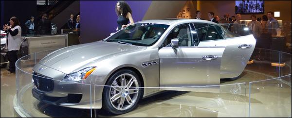 Autosalon Frankfurt 2013 Maserati