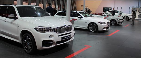 Autosalon van Frankfurt 2015 Live: Overzicht deel 1 BMW