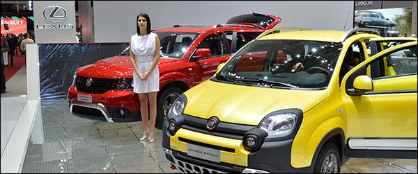 Autosalon Genève 2014 Live: Fiat