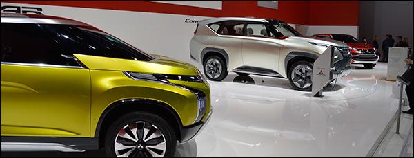 Autosalon Genève 2014 Live: Mitsubishi