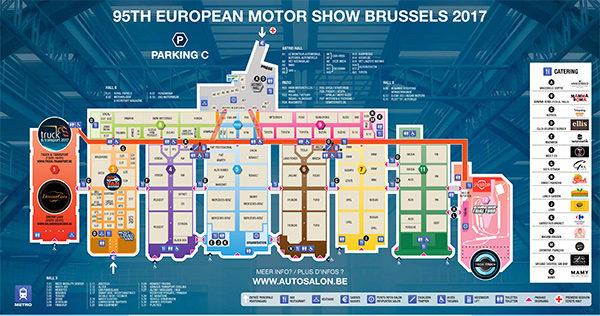 Autosalon van Brussel 2017: praktische informatie, tickets en openingsuren - overzicht