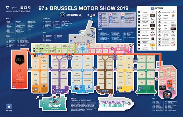 Autosalon van Brussel 2019: praktische informatie