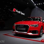 Autosalon van Geneve 2017 - Audi RS3 Sportback facelift