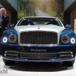 Autosalon van Geneve 2017 - Bentley Mulsanne EWB