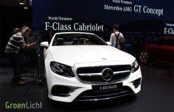 Autosalon van Geneve 2017 - Mercedes E-Klasse Cabrio