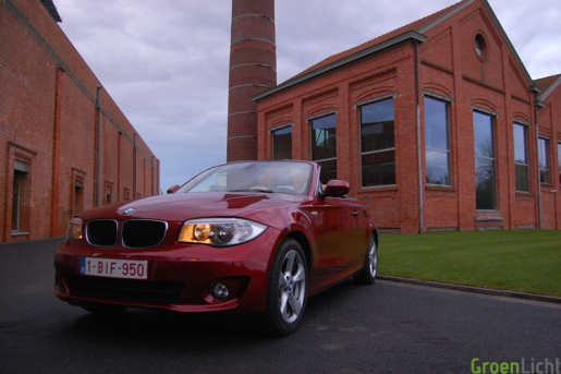 BMW 1-Reeks Cabrio 118d