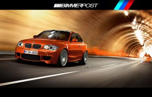BMW 1 Reeks M Coupé Rendering