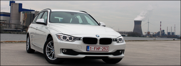 BMW 320d Touring EfficientDynamics Edition 2013 Header