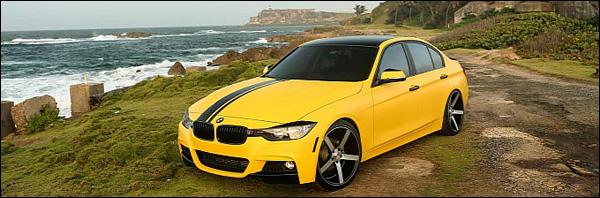 BMW 335i Vossen Wheels