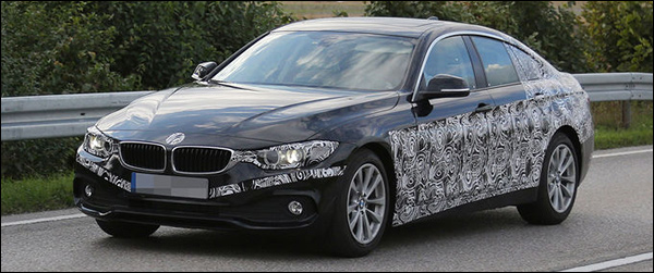 BMW 4-Reeks Gran Coupe komt in 2014