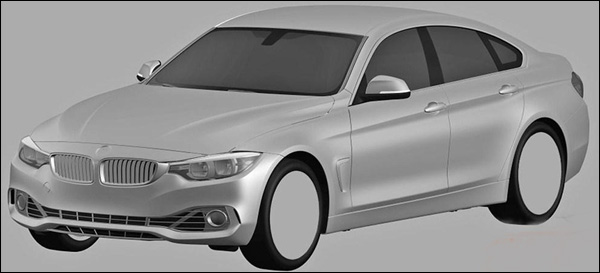 BMW 4-Reeks Gran Coupe Patent