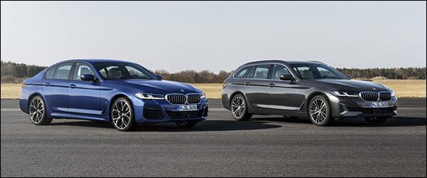 Officieel: BMW 5 Reeks Berline + 5 Reeks Touring facelift (2020)