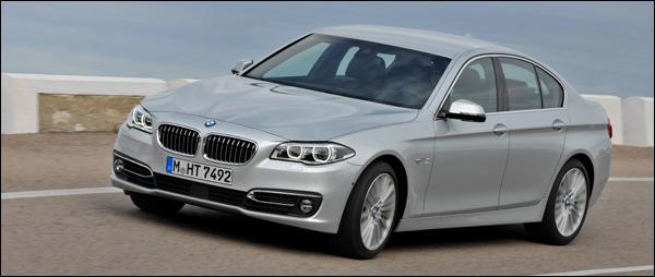 BMW 5-Reeks 2014 2013 facelift F10