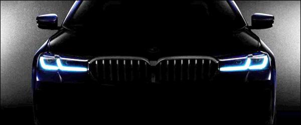 Teaser: BMW 5 Reeks facelift (2020)