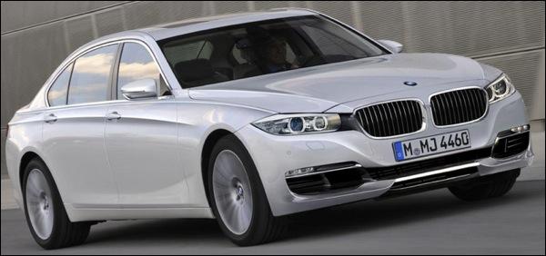 BMW 7-Reeks Facelift 2012