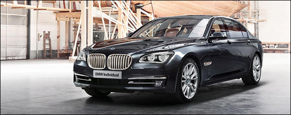 BMW Individual 760 Li Sterling - inspired by Robbe & Berking