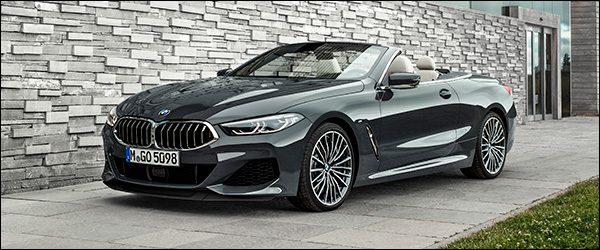 Belgische prijs BMW 8-Reeks Cabrio: vanaf 110.150 euro