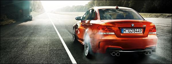 BMW Burnout 1-Reeks M-Coupe