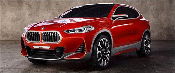 Officieel: BMW Concept X2