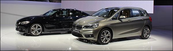 BMW Geneve 2014 Live - 2-Reeks Active Tourer en 4-Reeks Gran Coupe