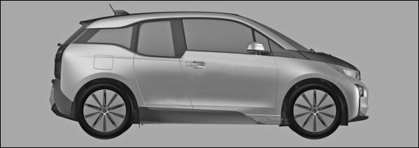 BMW I3 patentafbeeldingen