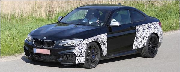 BMW M2 header