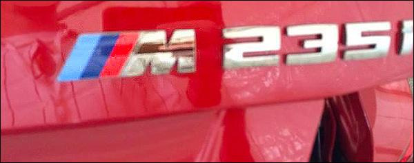 BMW M235i Lek
