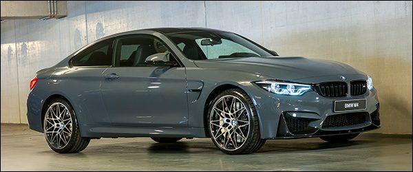 Special Editions: BMW M3 Berline en M4 Coupé 'AVUS' en 'TELESTO'
